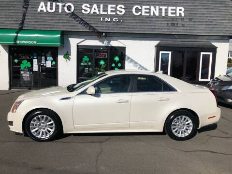 2013 Cadillac CTS for sale at Auto Sales Center Inc in Holyoke MA