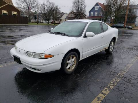 1999 Oldsmobile Alero for sale at USA AUTO WHOLESALE LLC in Cleveland OH