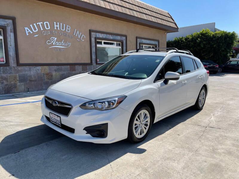 2018 Subaru Impreza for sale at Auto Hub, Inc. in Anaheim CA