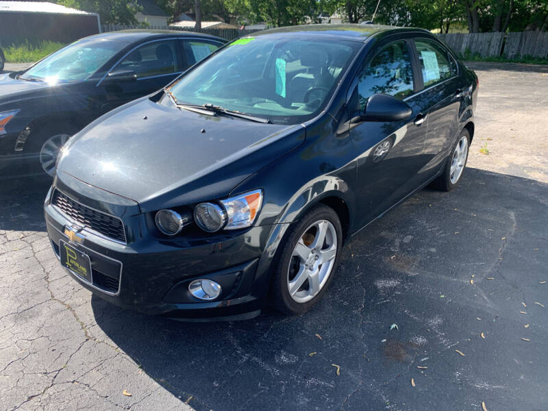2015 Chevrolet Sonic for sale at PAPERLAND MOTORS in Green Bay WI