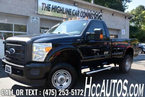 2014 Ford F-250 Super Duty for sale at The Highline Car Connection in Waterbury CT