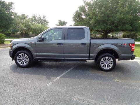 2018 Ford F-150 for sale at BALKCUM AUTO INC in Wilmington NC
