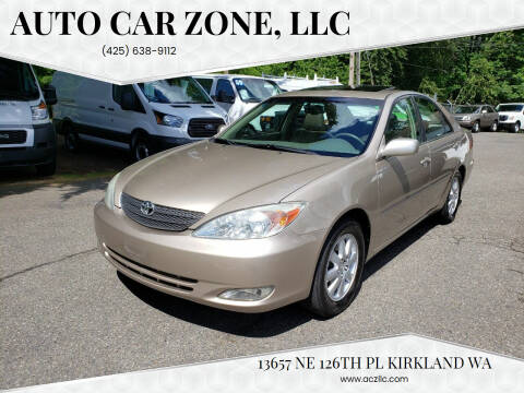2003 Toyota Camry for sale at Auto Car Zone, LLC in Kirkland WA