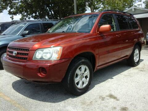 2002 Toyota Highlander for sale at John 3:16 Motors in San Antonio TX