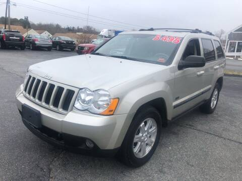 2008 Jeep Grand Cherokee for sale at MBM Auto Sales and Service - MBM Auto Sales/Lot B in Hyannis MA
