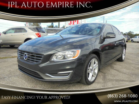 2015 Volvo S60 for sale at JPL AUTO EMPIRE INC. in Auburndale FL