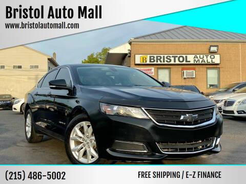 2017 Chevrolet Impala for sale at Bristol Auto Mall in Levittown PA