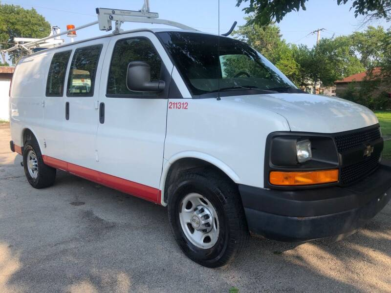 2011 Chevrolet Express Cargo for sale at Midland Commercial. Chicago Cargo Vans & Truck in Bridgeview IL