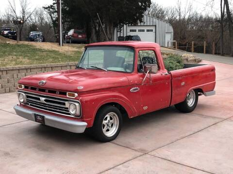 1966 Ford F-100 for sale at Gateway Auto Source in Imperial MO