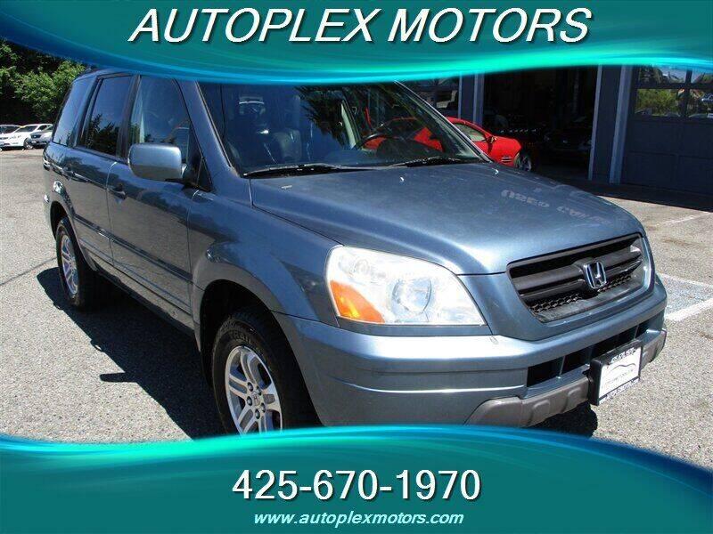 2005 Honda Pilot for sale at Autoplex Motors in Lynnwood WA