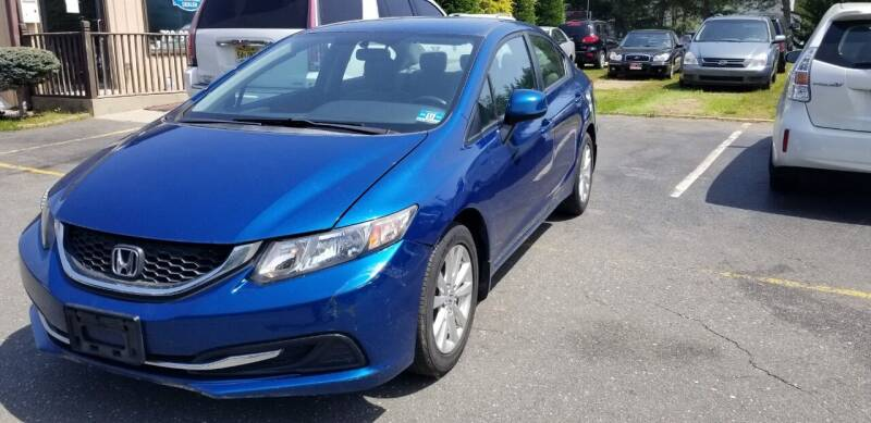 2013 Honda Civic for sale at Central Jersey Auto Trading in Jackson NJ