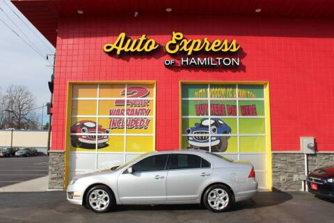 2011 Ford Fusion for sale at AUTO EXPRESS OF HAMILTON LLC in Hamilton OH
