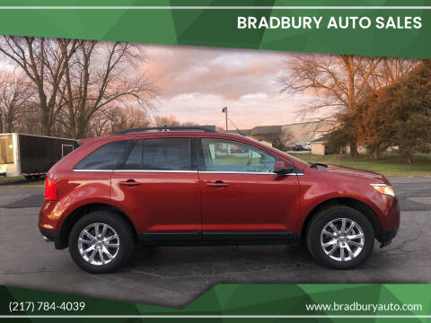 2014 Ford Edge for sale at BRADBURY AUTO SALES in Gibson City IL