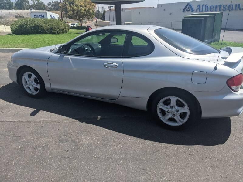 2000 Hyundai Tiburon for sale at Gold Coast Motors in Lemon Grove CA