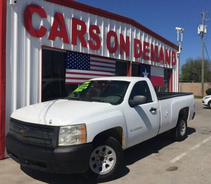 2012 Chevrolet Silverado 1500 for sale at Cars On Demand 3 in Pasadena TX
