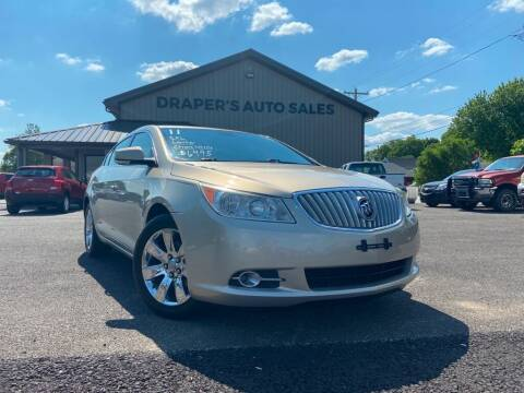 2011 Buick LaCrosse for sale at Drapers Auto Sales in Peru IN