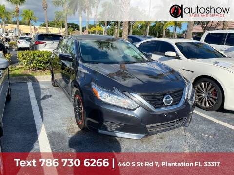 2018 Nissan Altima for sale at AUTOSHOW SALES & SERVICE in Plantation FL