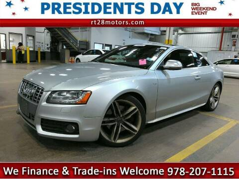 2008 Audi S5 for sale at RT28 Motors in North Reading MA