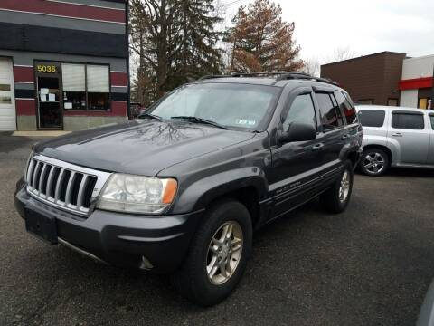 2004 Jeep Grand Cherokee for sale at Wildwood Motors in Gibsonia PA
