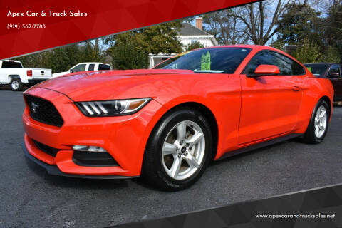 2017 Ford Mustang for sale at Apex Car & Truck Sales in Apex NC
