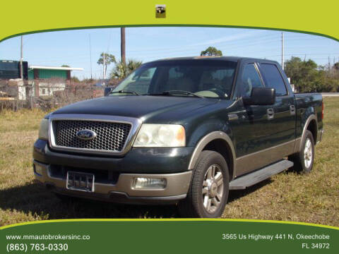 2004 Ford F-150 for sale at M & M AUTO BROKERS INC in Okeechobee FL