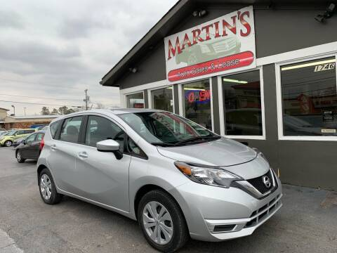 2017 Nissan Versa Note for sale at Martins Auto Sales in Shelbyville KY