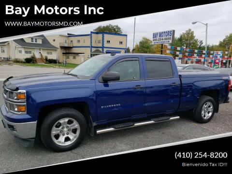 2014 Chevrolet Silverado 1500 for sale at Bay Motors Inc in Baltimore MD