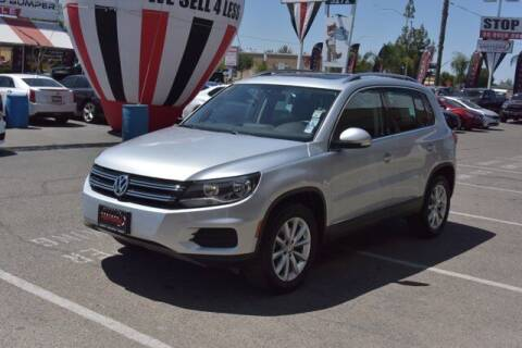 2017 Volkswagen Tiguan for sale at Choice Motors in Merced CA