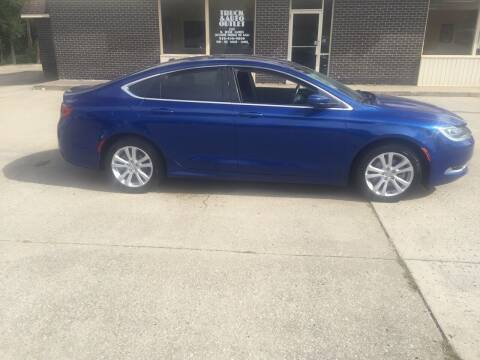 2015 Chrysler 200 for sale at Truck and Auto Outlet in Excelsior Springs MO