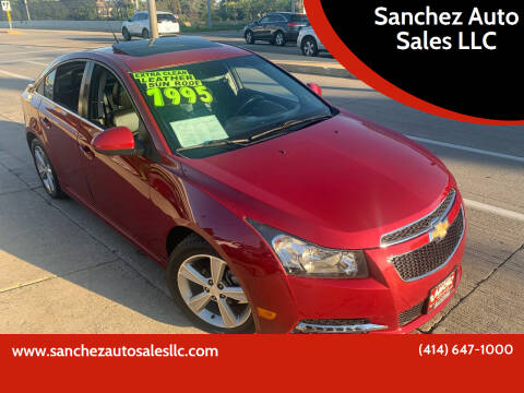 2013 Chevrolet Cruze for sale at Sanchez Auto Sales LLC in Milwaukee WI