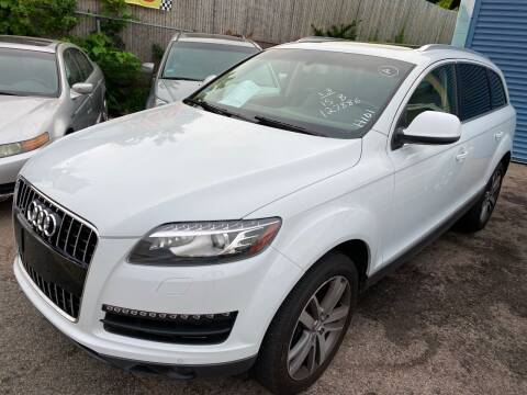 2013 Audi Q7 for sale at Polonia Auto Sales and Service in Hyde Park MA