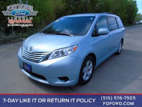 2015 Toyota Sienna for sale at Fort Dodge Ford Lincoln Toyota in Fort Dodge IA