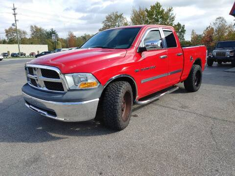 2011 RAM Ram Pickup 1500 for sale at Cruisin' Auto Sales in Madison IN