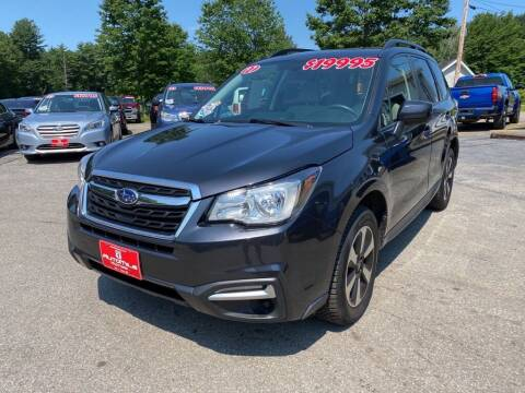 2017 Subaru Forester for sale at AutoMile Motors in Saco ME