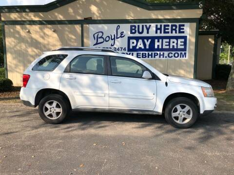 2006 Pontiac Torrent for sale at Boyle Buy Here Pay Here in Sumter SC