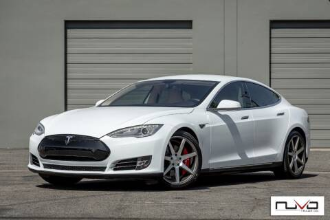 2014 Tesla Model S for sale at Nuvo Trade in Newport Beach CA