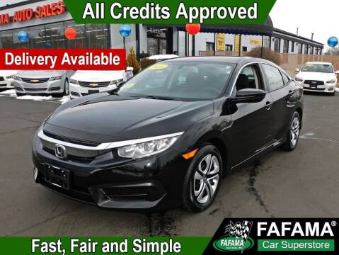 2018 Honda Civic for sale at FAFAMA AUTO SALES Inc in Milford MA