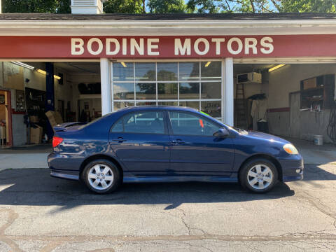 2007 Toyota Corolla for sale at BODINE MOTORS in Waverly NY