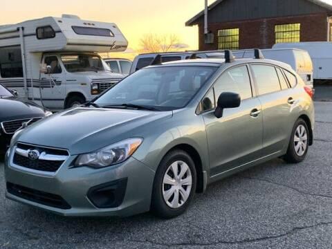 2014 Subaru Impreza for sale at CT Auto Center Sales in Milford CT