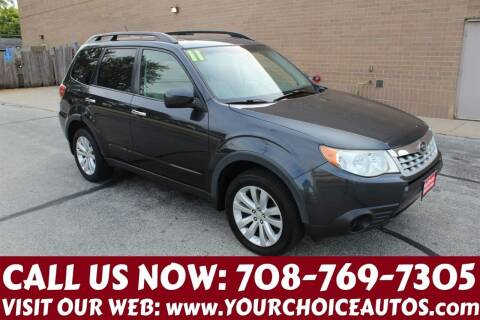2011 Subaru Forester for sale at Your Choice Autos in Posen IL