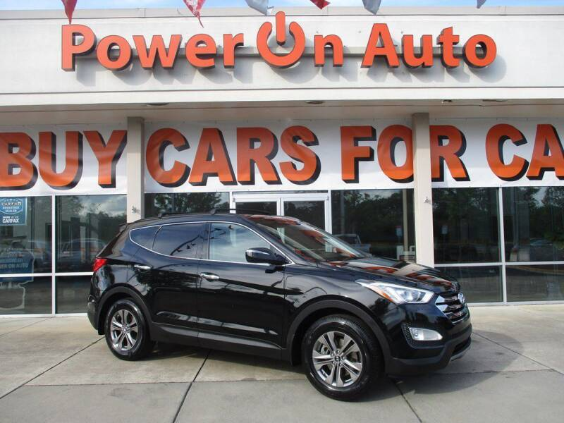 2013 Hyundai Santa Fe Sport for sale at Power On Auto LLC in Monroe NC