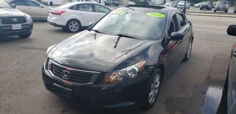 2010 Honda Accord for sale at TC Auto Repair and Sales Inc in Abington MA