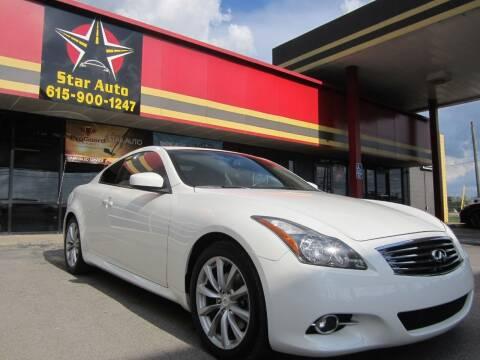 2012 Infiniti G37 Coupe for sale at Star Auto Inc. in Murfreesboro TN