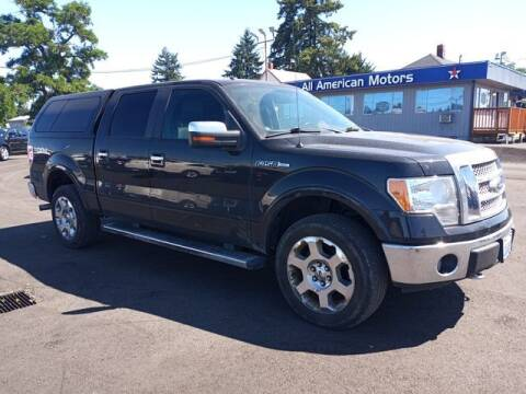 2010 Ford F-150 for sale at All American Motors in Tacoma WA