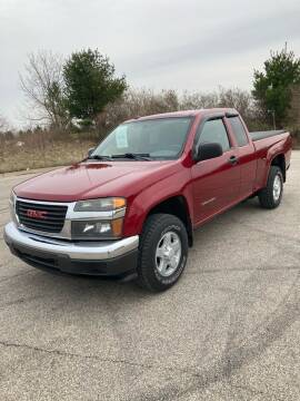 2004 GMC Canyon for sale at Hines Auto Sales in Marlette MI