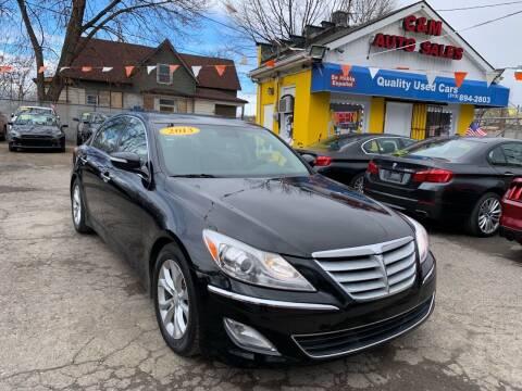 2013 Hyundai Genesis for sale at C & M Auto Sales in Detroit MI