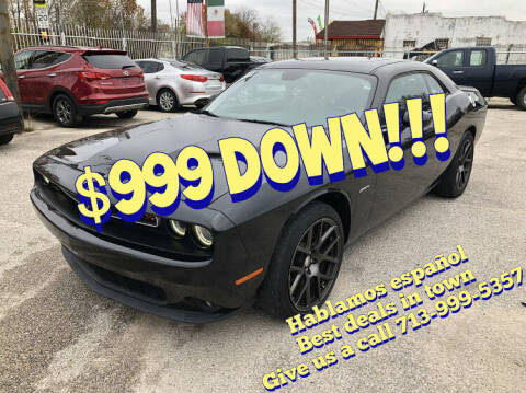 2016 Dodge Challenger for sale at Saipan Auto Sales in Houston TX