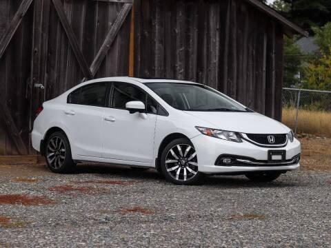 2015 Honda Civic for sale at LKL Motors in Puyallup WA