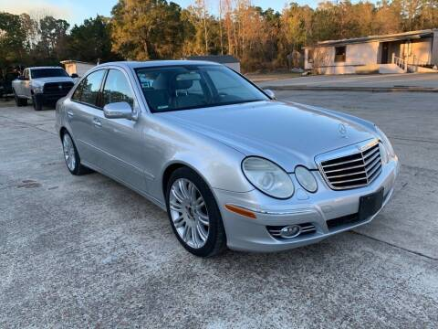 2008 Mercedes-Benz E-Class for sale at AUTO WOODLANDS in Magnolia TX