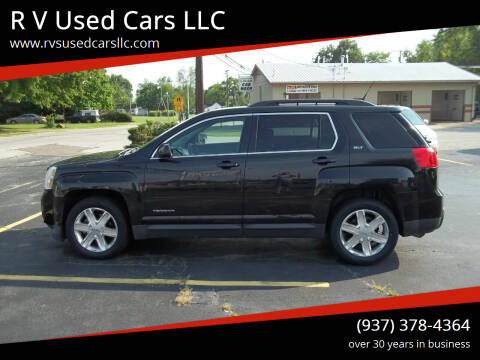 2010 GMC Terrain for sale at R V Used Cars LLC in Georgetown OH